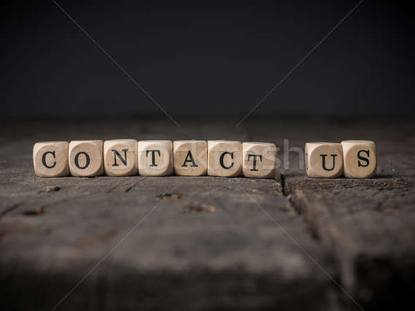 Contact us concept image Stock photo © andreasberheide