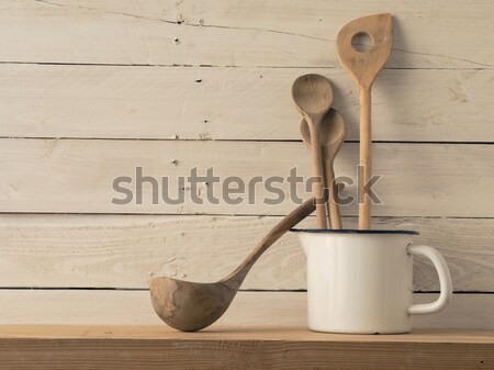 Stock photo: Home kitchen still life, vintage style