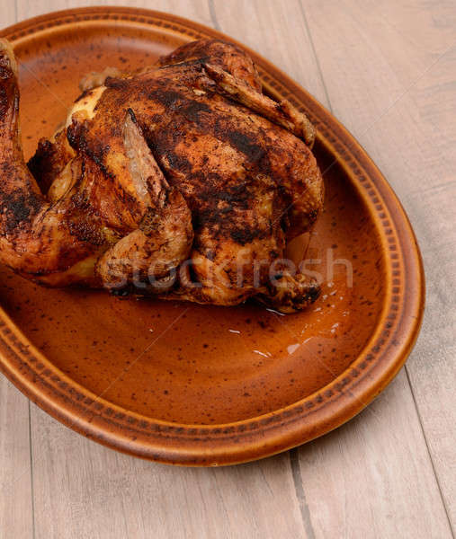 Fried chicken Stock photo © andreasberheide
