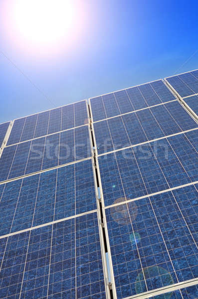 Solar panel Stock photo © andreasberheide