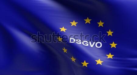 Foto stock: Europeo · Unión · bandera · general