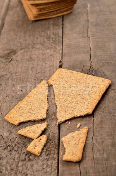 Whole grain bread Stock photo © andreasberheide