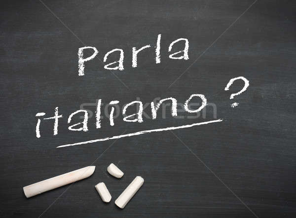 Learning language - Italian Stock photo © andreasberheide