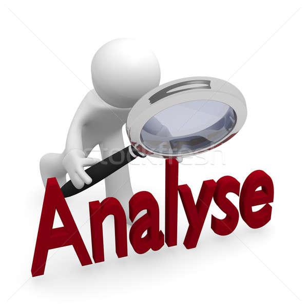 Analyse Stock photo © andreasberheide