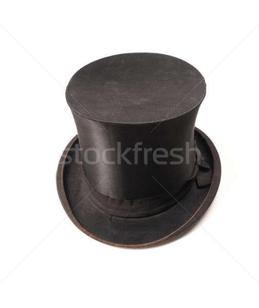 öreg használt divat retro ruházat kalap Stock fotó © andreasberheide