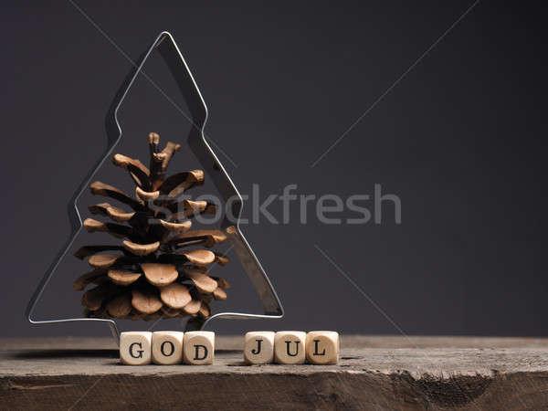 God Jul, Merry Christmas Stock photo © andreasberheide