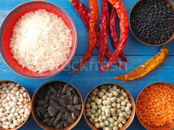 Colorful cooking ingredients Stock photo © andreasberheide
