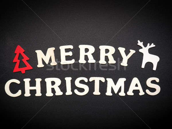 Merry Christmas background Stock photo © andreasberheide