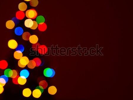 Christmas tree shape Stock photo © andreasberheide