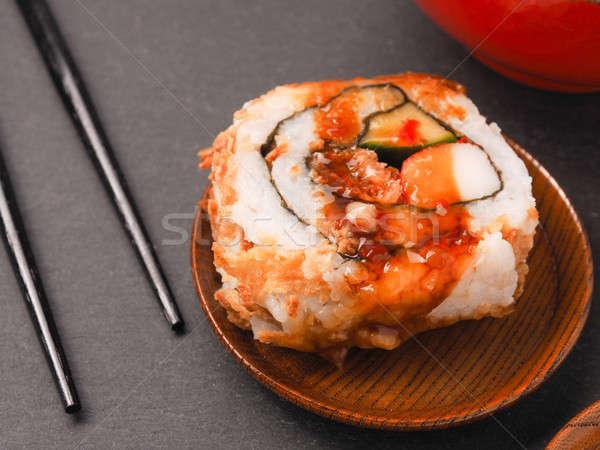 Buio sfondo piatto japanese Foto d'archivio © andreasberheide