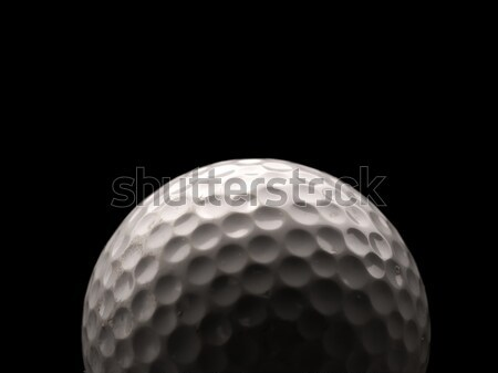Golfball usado escuro grama golfe Foto stock © andreasberheide