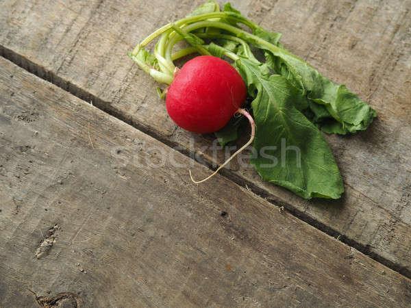 Fresh organic radish Stock photo © andreasberheide
