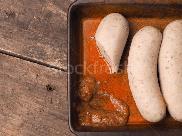 продовольствие белый Sweet горчица Сток-фото © andreasberheide