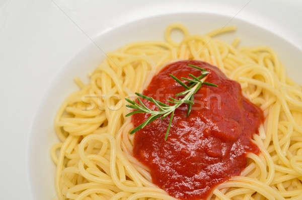 Spaghetti Stock photo © andreasberheide