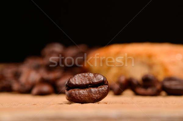 Espresso bean italiana piccolo pane Foto d'archivio © andreasberheide