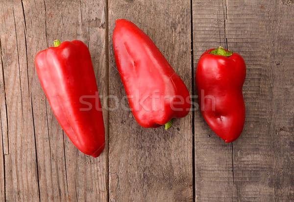 Red paprika Stock photo © andreasberheide