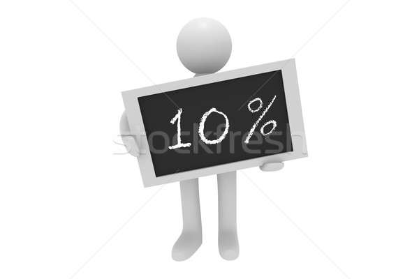 Ten percent Stock photo © andreasberheide
