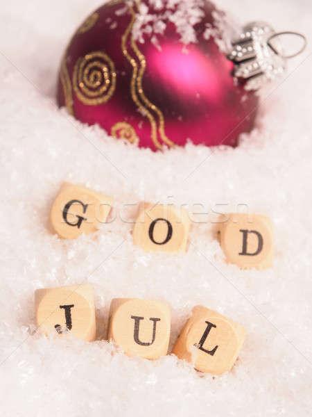 God Jul Stock photo © andreasberheide