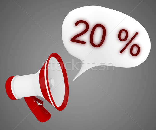 20 % off Stock photo © andreasberheide