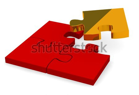 Stock photo: Golden piece