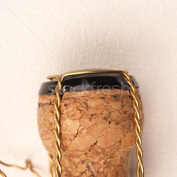 Champagne bottle cork Stock photo © andreasberheide