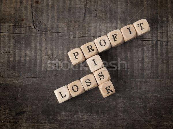 Profit and loss Stock photo © andreasberheide