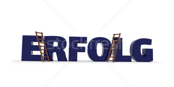 3d concept with the German word Success Stock photo © andreasberheide