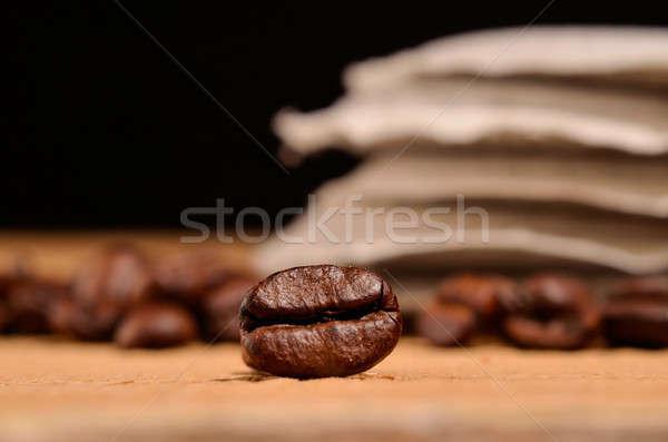 Espresso beans Stock photo © andreasberheide