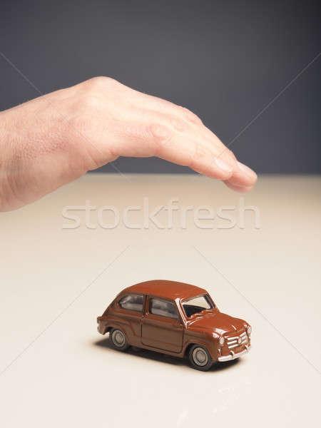 Car protection, safety concept Stock photo © andreasberheide
