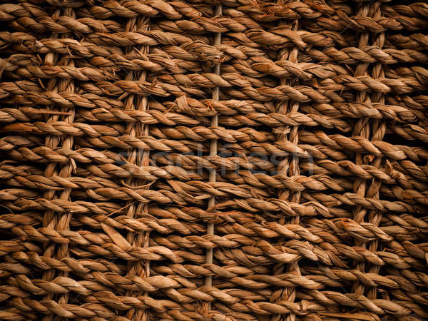 Textuur zeewier mand ruimte tekst afbeelding Stockfoto © andreasberheide