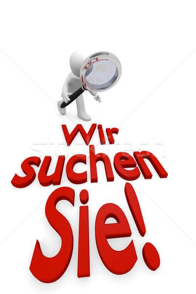 We want you! Stock photo © andreasberheide