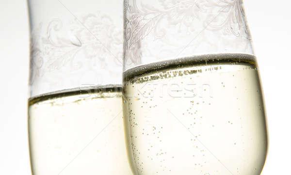 Two glasses of champagne Stock photo © andreasberheide