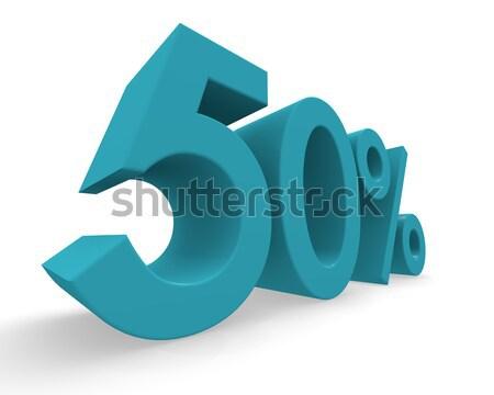 Five percent 3d rendering Stock photo © andreasberheide