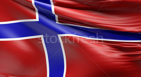 Flag of Norway  Stock photo © andreasberheide