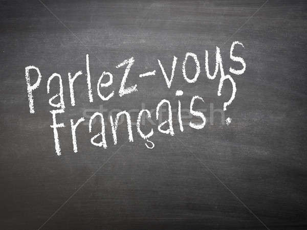 Learning language - French Stock photo © andreasberheide