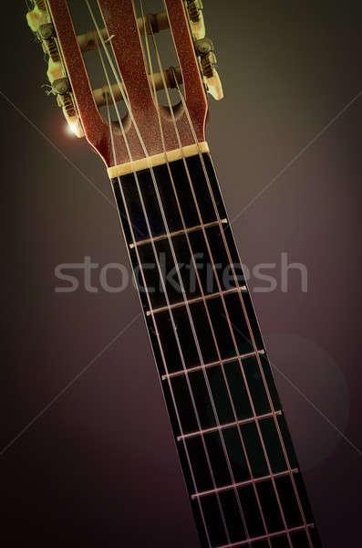 Old guitar Stock photo © andreasberheide