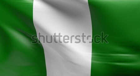 Flag of Nigeria  Stock photo © andreasberheide