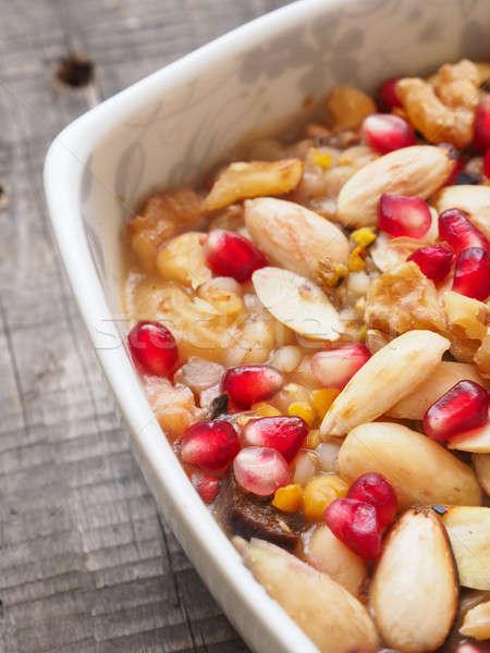 健康 朝食 自家製 ミューズリー 素朴な ストックフォト © andreasberheide