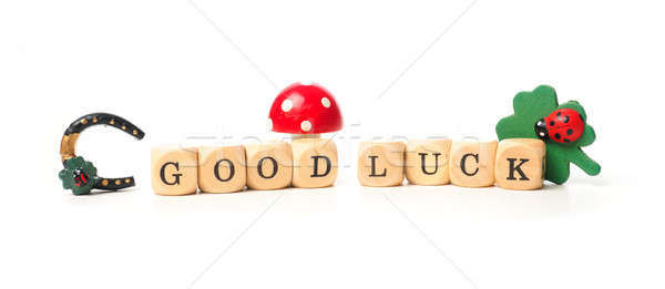 Good luck concept image Stock photo © andreasberheide