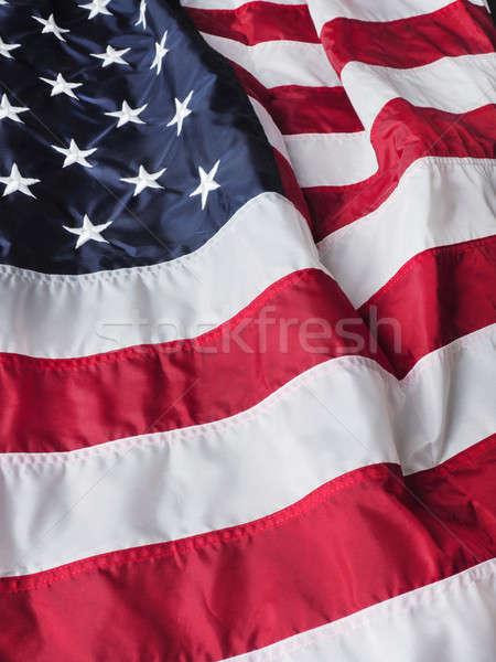 Flag of the United States of America Stock photo © andreasberheide