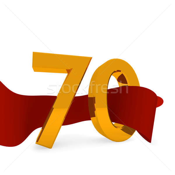 Stock photo: Golden 70
