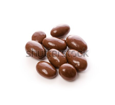 Chocolate with almonds Stock photo © andreasberheide