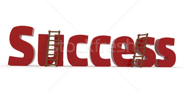 3d concept with the word Success Stock photo © andreasberheide