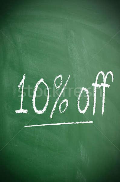 Ten percent off Stock photo © andreasberheide