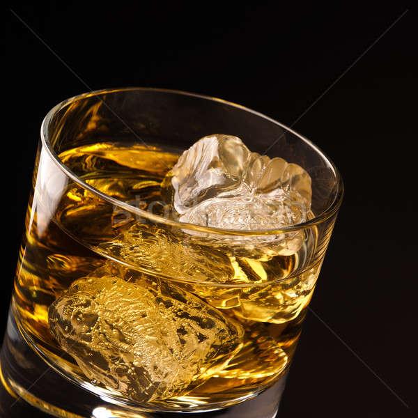 Glass of whiskey Stock photo © andreasberheide