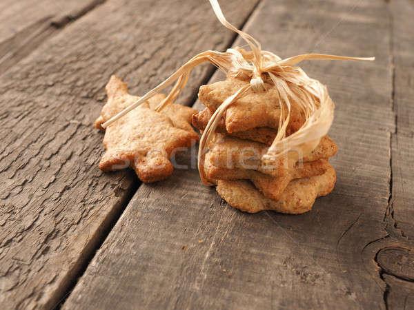 Sweet organic homemade cookies Stock photo © andreasberheide