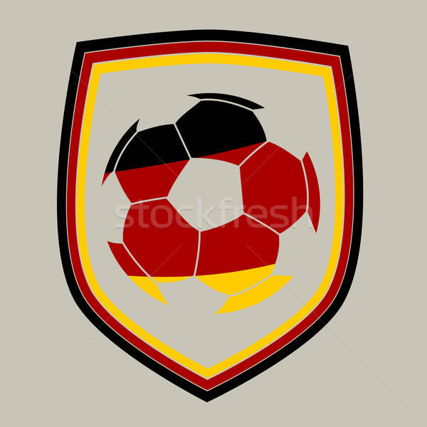 German soccer ball Stock photo © andreasberheide