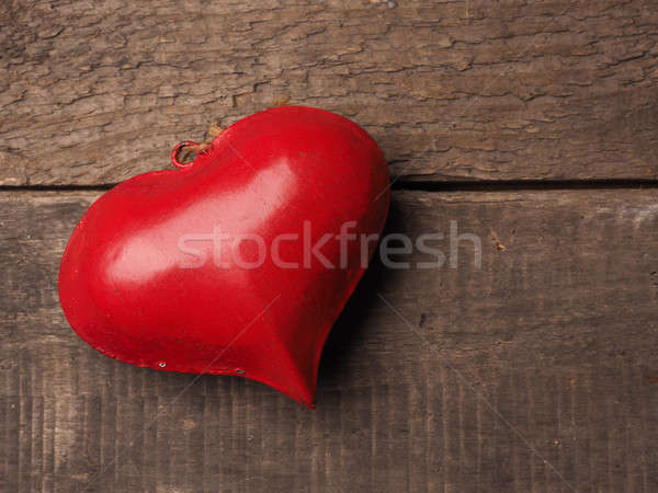 Love concept background on wood Stock photo © andreasberheide