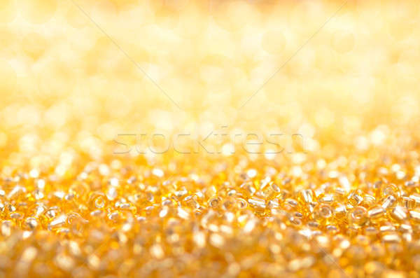 Abstract golden Christmas background Stock photo © andreasberheide