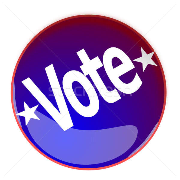Glossy button with the word Vote Stock photo © andreasberheide